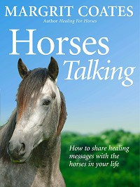 Horses talking by Margrit Coates